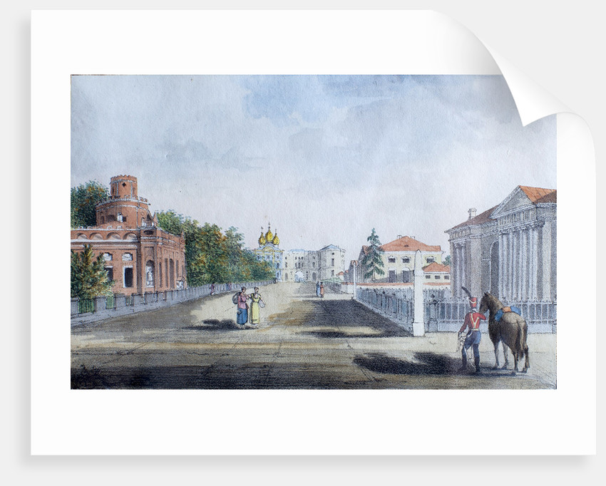 The Imperial Lyceum in Tsarskoye Selo by Anonymous