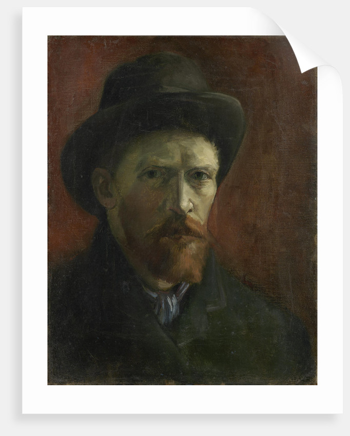 Self-Portrait with Felt Hat by Anonymous