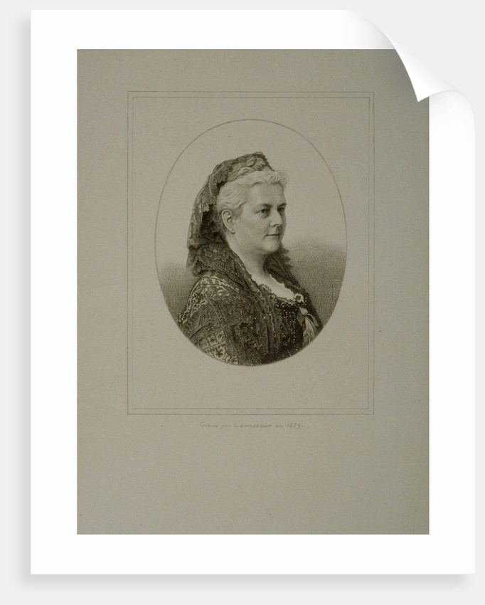 Portrait of the composer Louise-Aglaé Massart by Anonymous