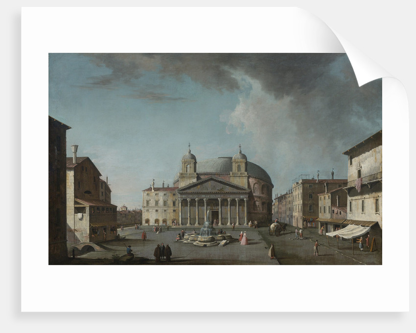 View of the Pantheon in Rome by Anonymous