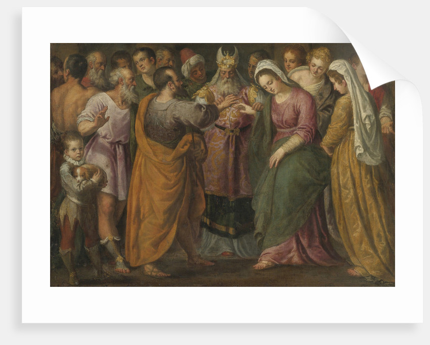 The Marriage of Mary and Joseph by Anonymous
