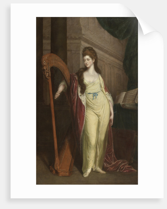 Portrait of Elizabeth, Baroness Craven, Later Margravine of Brandenburg-Ansbach by Anonymous