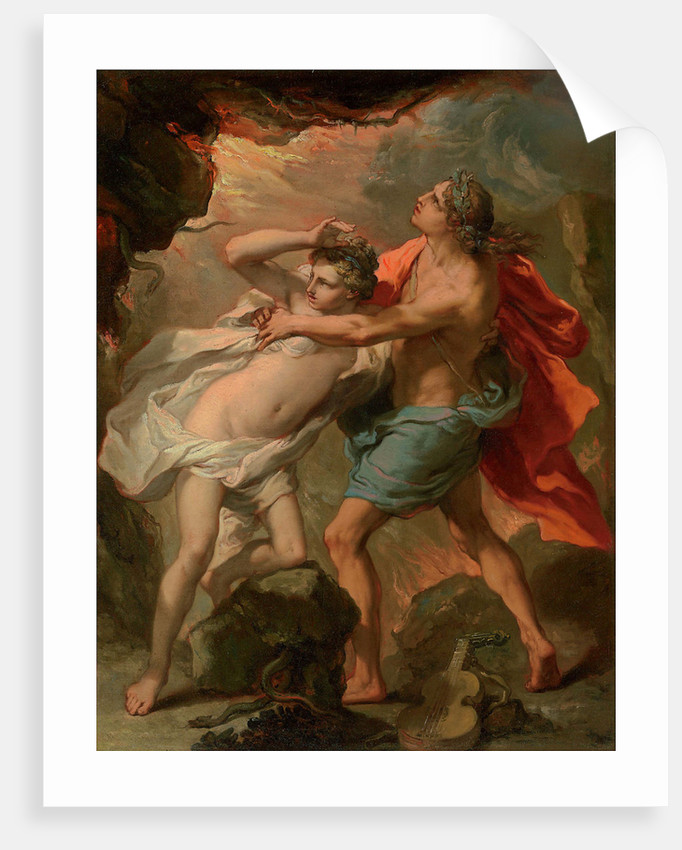 Orpheus and Eurydice by Anonymous