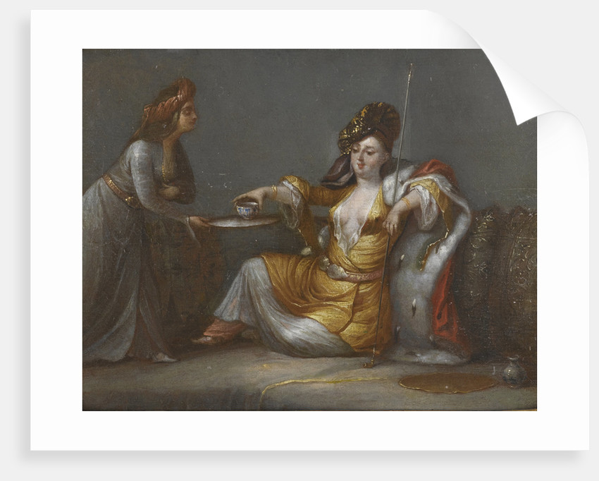 Sultana Taking Coffee by Anonymous