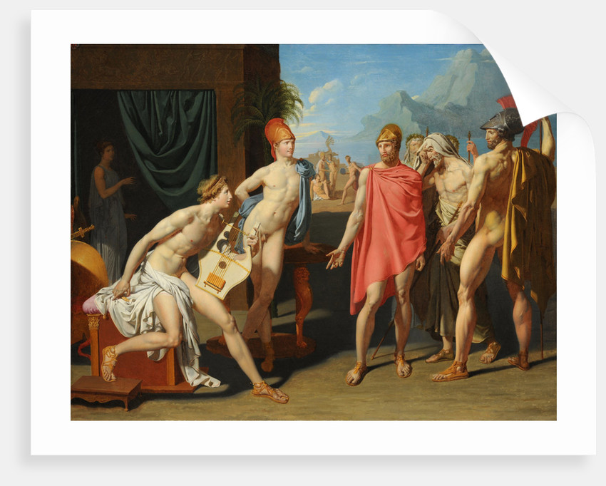 Achilles Receiving the Ambassadors of Agamemnon by Anonymous