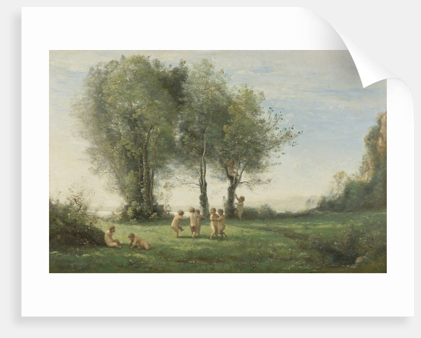 Round Dance Of Putti. Sunrise by Anonymous