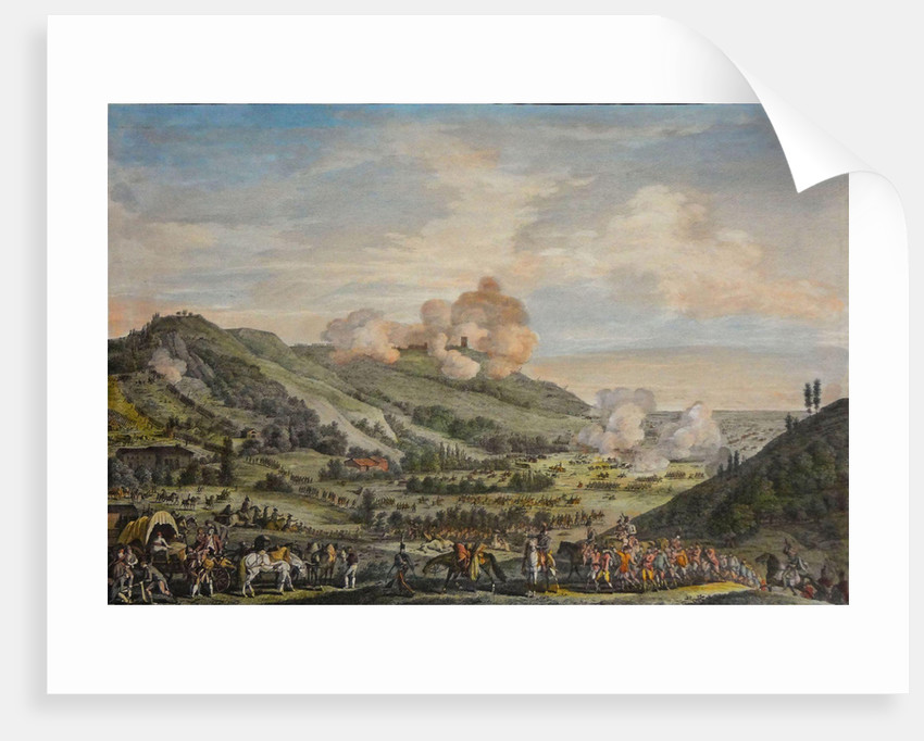 The Battle of Castiglione, 5 August 1796 by Anonymous