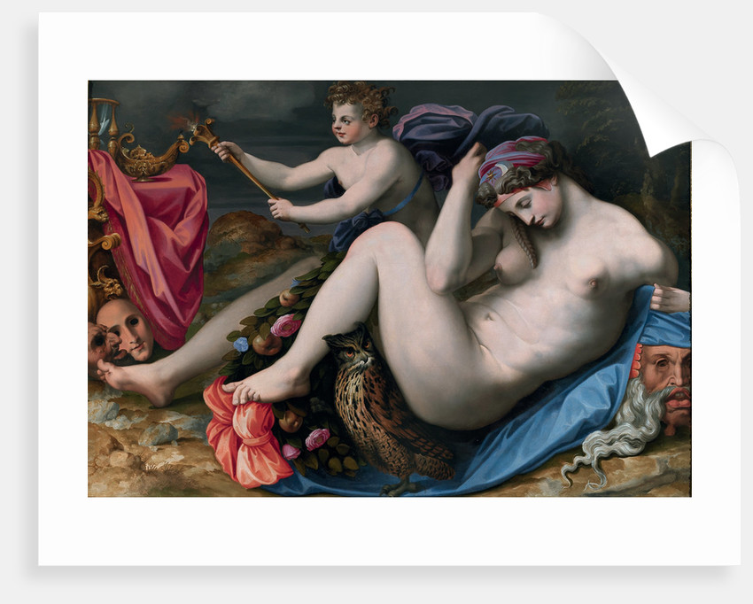 Allegory of the Night by Anonymous