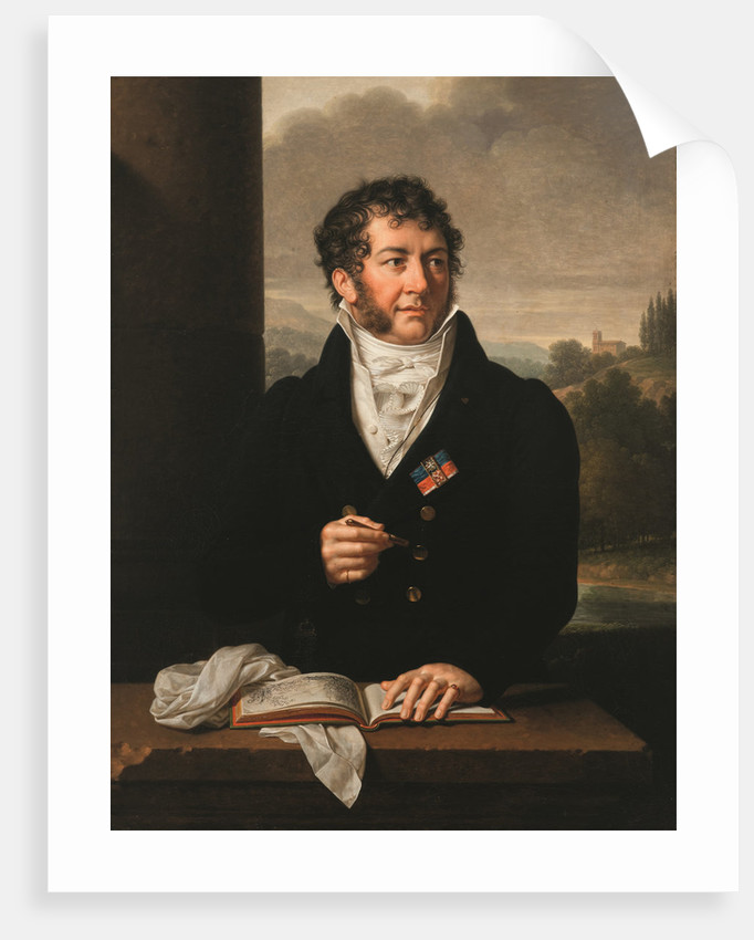 Portrait of the composer Michael Kleophas Oginski by Anonymous