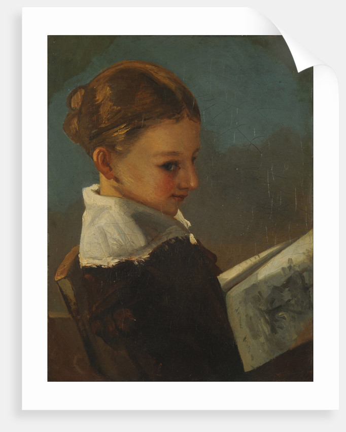 Julieta Courbet at ten years old by Anonymous
