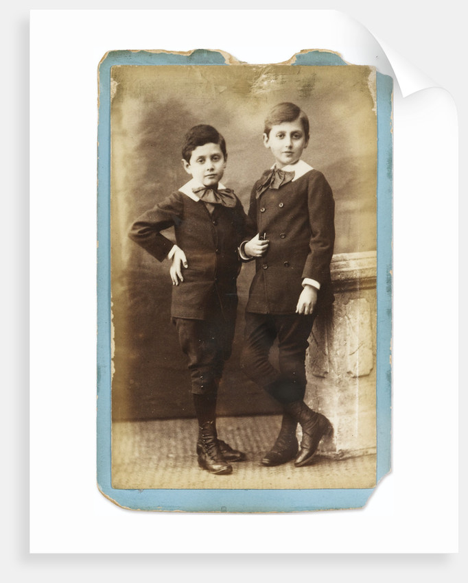 Marcel and Robert Proust as children by Anonymous