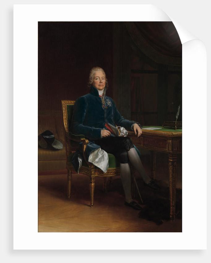 Charles Maurice de Talleyrand Périgord, Prince de Bénévent by Anonymous