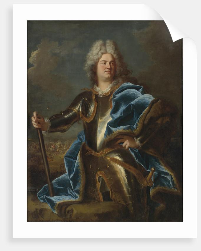 Portrait of Marshal General Claude-Louis-Hector de Villars by Anonymous