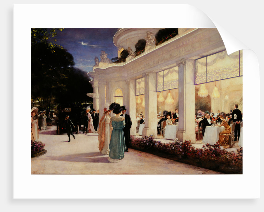 An evening at Pré Catelan by Anonymous