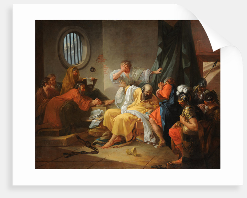 The Death of Socrates by Anonymous