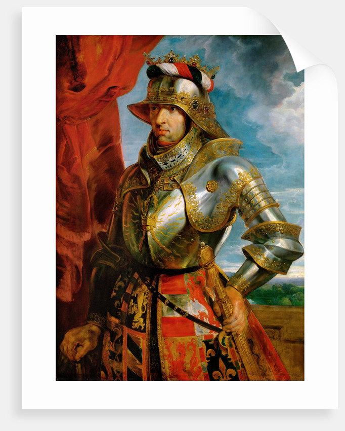 Portrait of Emperor Maximilian I by Anonymous
