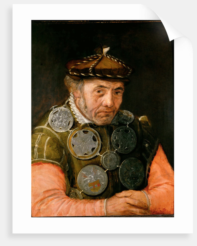 Portrait of a Guild Officer by Anonymous