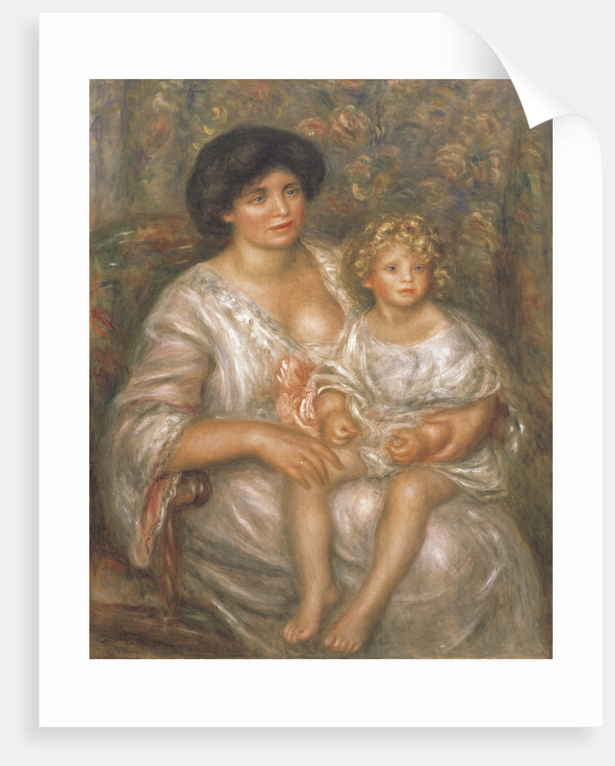 Madame Thurneyssen and her Daughter, 1910 by Anonymous