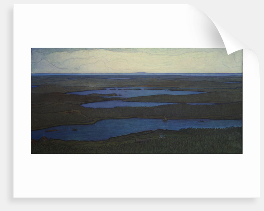 Over Forest and Lake, 1908 by Anonymous