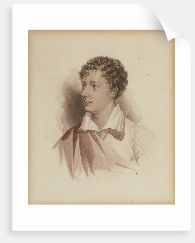 Portrait of George Gordon Byron, 6th Baron Byron After a portrait of 1808, 1831 by Anonymous