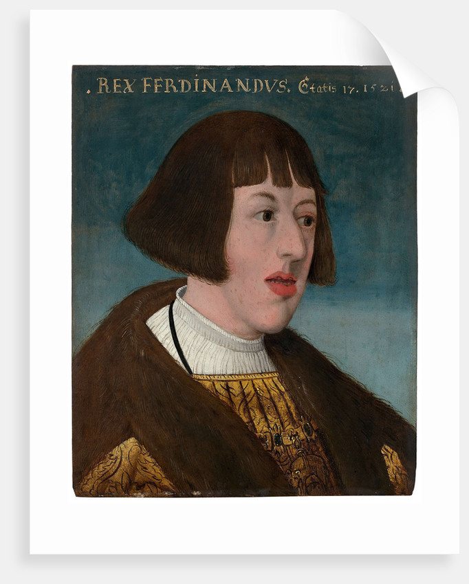 Portrait of Emperor Ferdinand I, 1521 by Anonymous