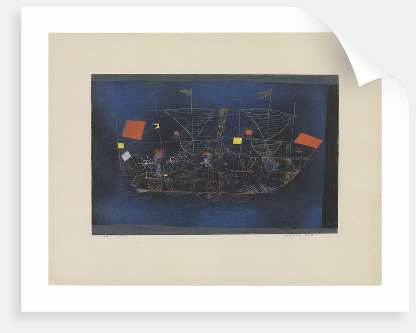 Das Abenteuerschiff (The Adventure Ship), 1927 by Anonymous