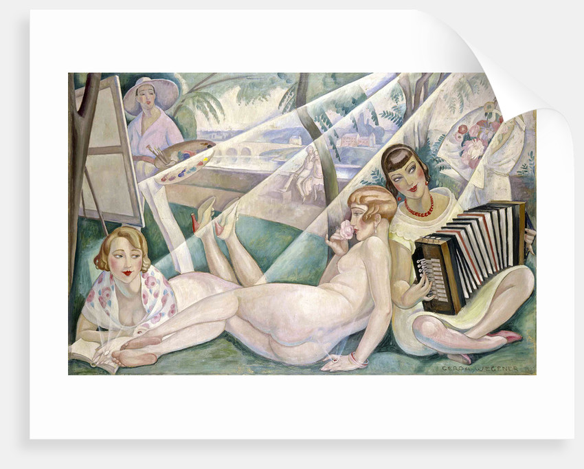 A Summer Day, 1927 by Anonymous