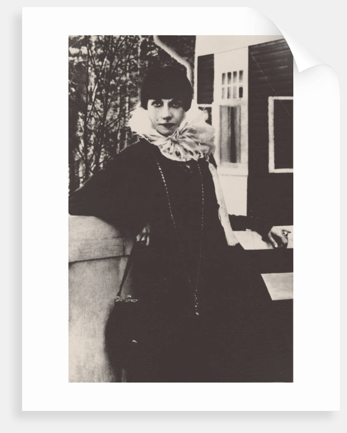Pallada Bogdanova-Belskaya, 1915 by Anonymous