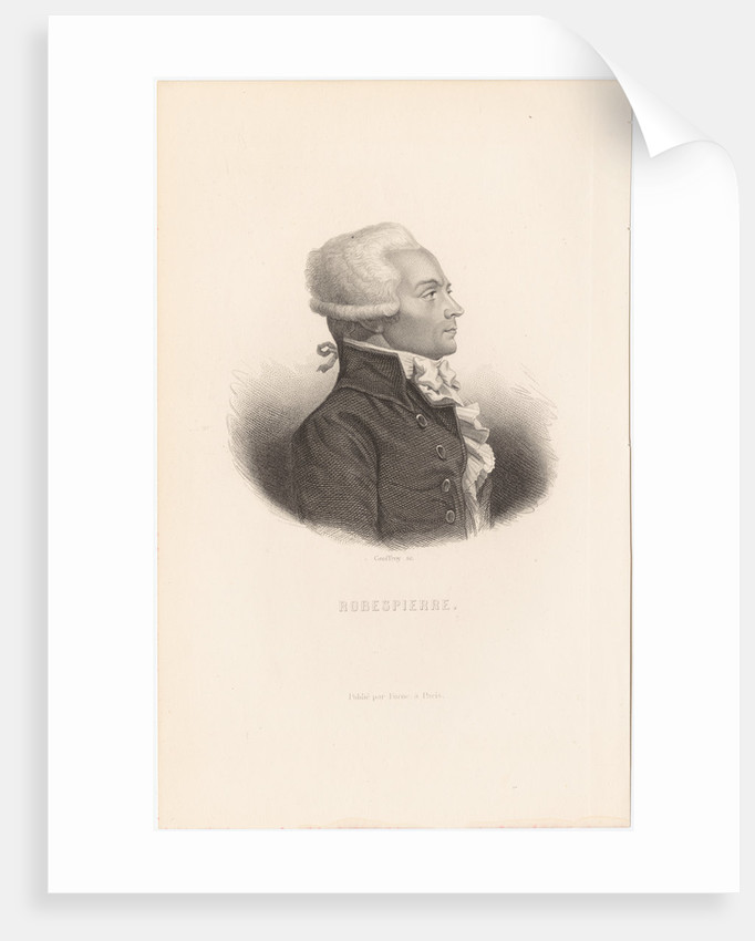 Maximilien de Robespierre by Anonymous