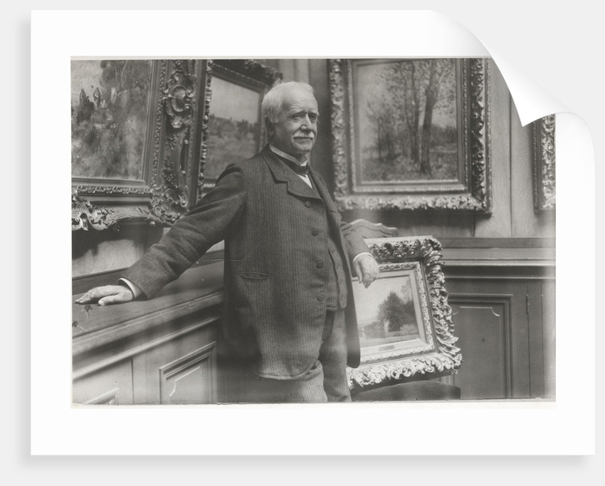 Portrait of Paul Durand-Ruel in his gallery, c. 1910 by Anonymous