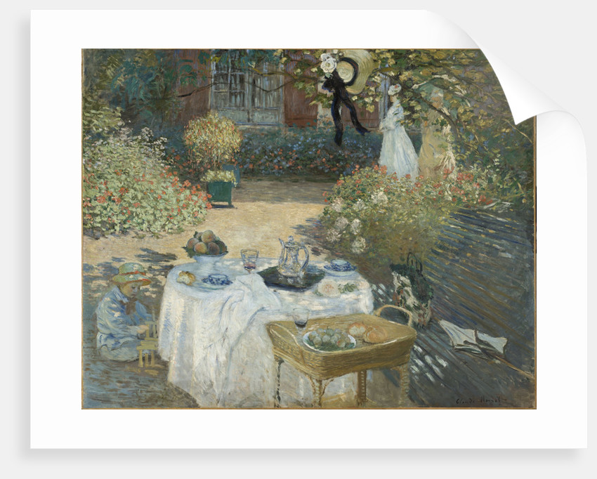 Le Déjeuner (Breakfast), ca 1873 by Anonymous