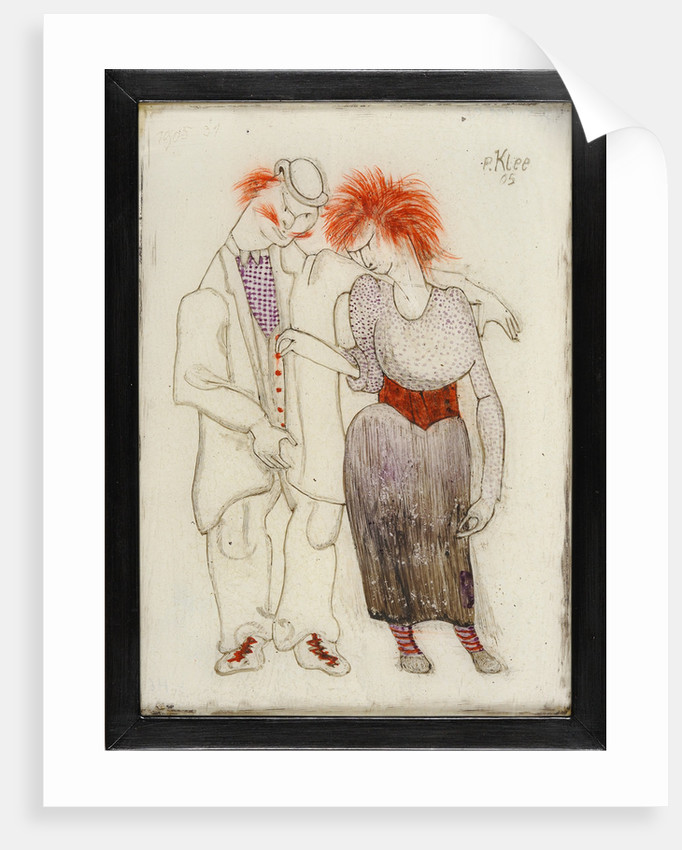 Verkommenes Paar (Couple mauvais genre), 1905 by Anonymous
