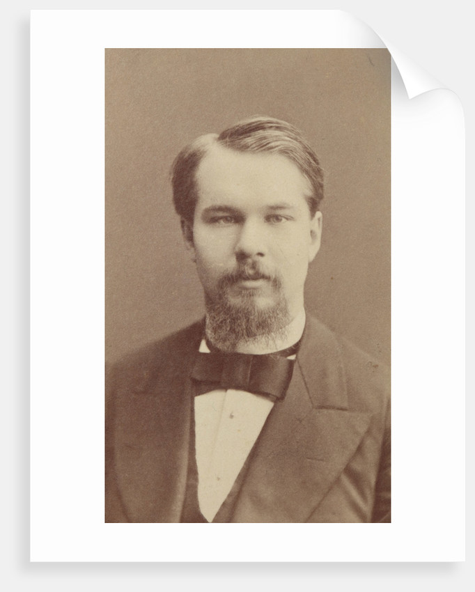 Portrait of the Composer Sergei Ivanovich Taneyev, Early 1880s by Anonymous