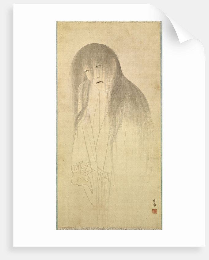 The Ghost of Oyuki, Second Half of the 18th cen by Anonymous