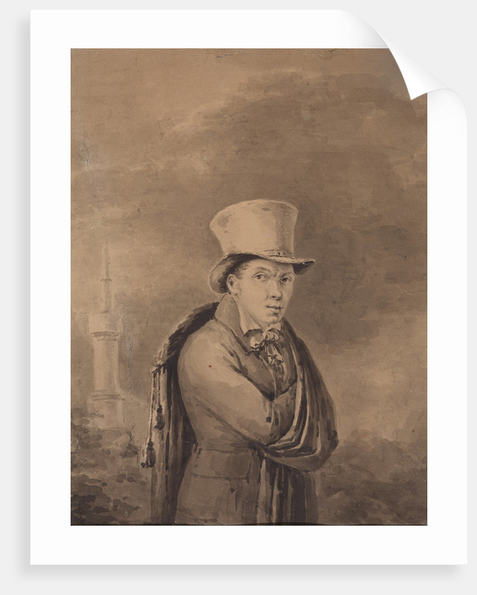 Portrait of the Poet Viktor Grigoryevich Teplyakov, 1830s by Anonymous