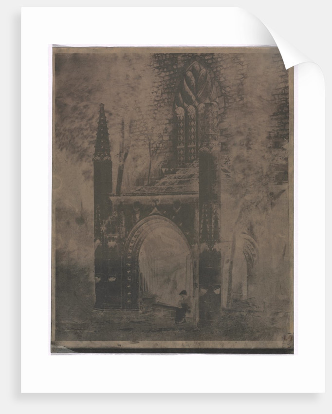 Fountain of Notre Dame at Saint-Brieuc, Brittany, c. 1853 by Louis-Rémy Robert