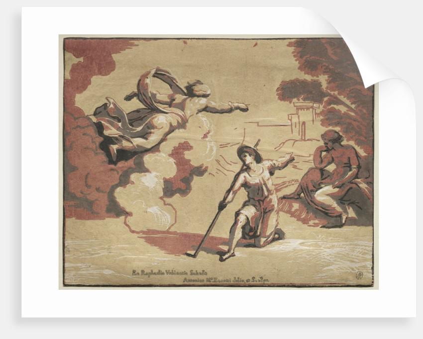 God Appearing to Isaac, 1723 by Antonio Maria I Zanetti