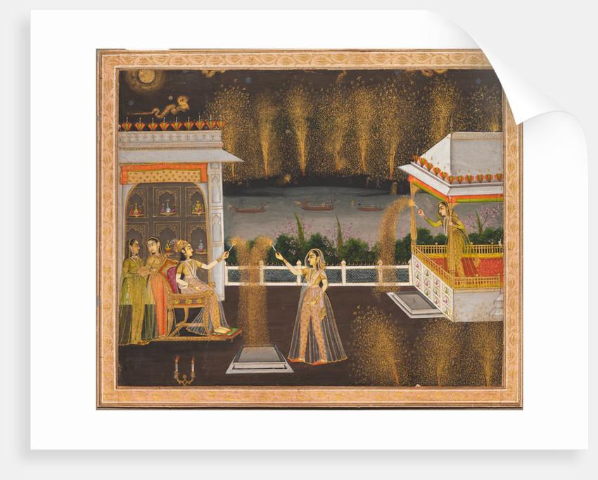 Ladies Celebrating Diwali, c. 1760 by Unknown