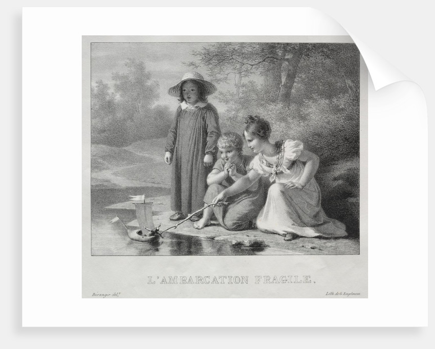 LAmbarcation fragile by Antoine Béranger