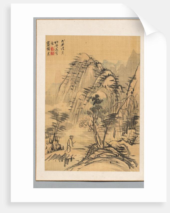 Landscape, 1798 by Chikuseki Nagamachi