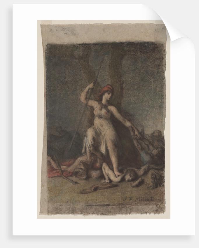 Liberty, probably 1848 by Jean-François Millet