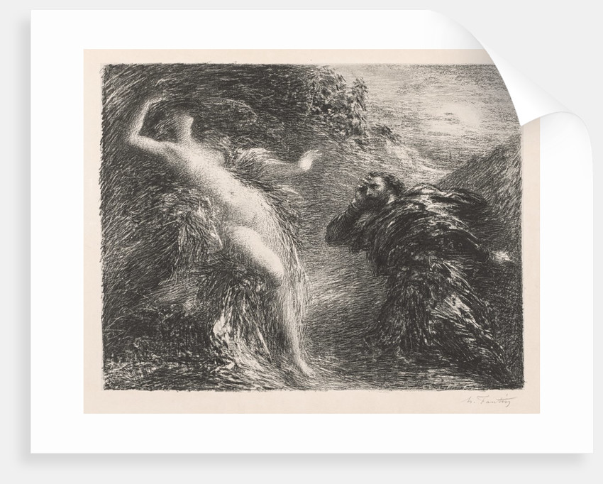 Manfred and Astarté, 1892 by Henri Fantin-Latour