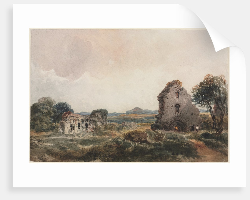 Neath Abbey, c. 1840s by Peter De Wint