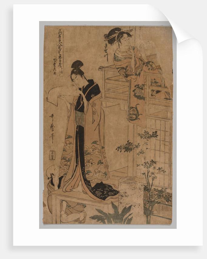 No Title, 1753-1806 by Kitagawa Utamaro