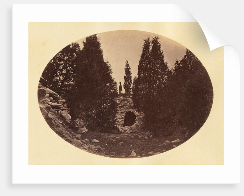 Old Emplacement, West Point, late 1860s by George K. Warren