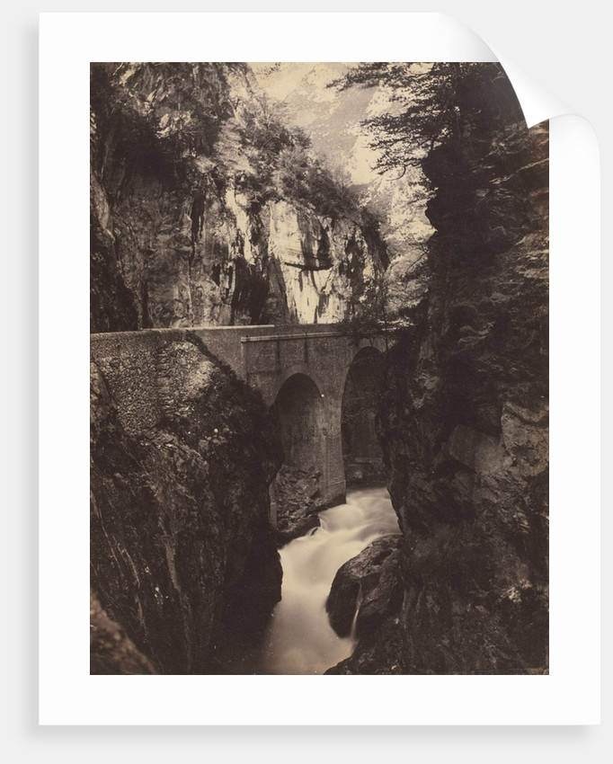 Road to Eaux-Chaudes, Pyrenees, c. 1855 by Farnham Maxwell Lyte