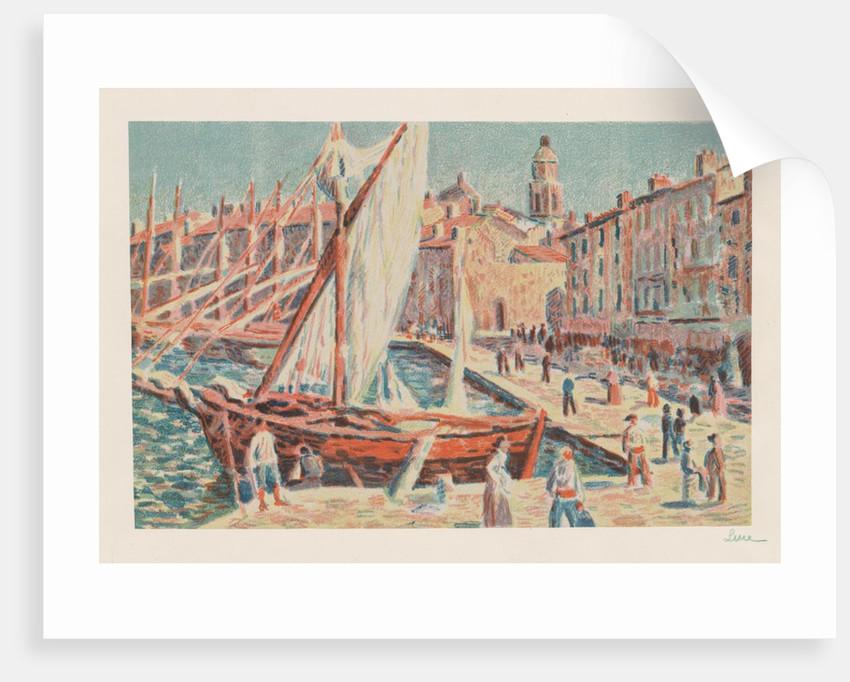 Saint-Tropez, 1897 by Maximilien Luce
