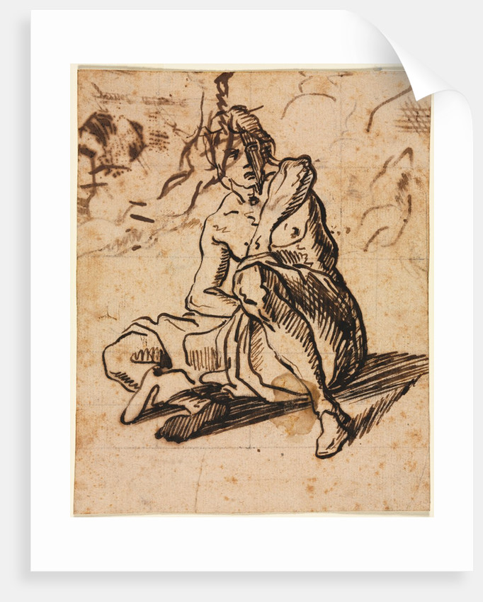 Seated Figure, 1600s by Unknown