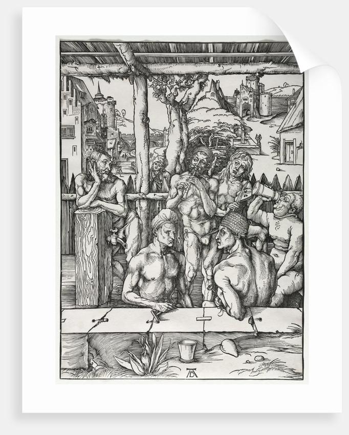 The Men's Bath House, c. 1496-1497 by Albrecht Dürer
