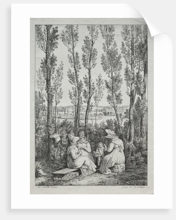 The Picnic by Charles Philibert Lasteyrie du Saillant
